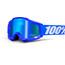 100% Accuri Goggle Anti Fog Mirror Lens / reflex blue